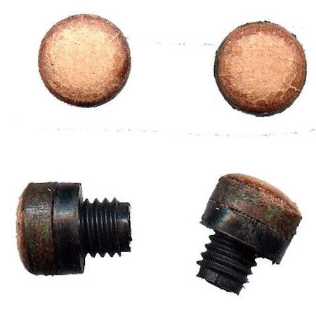 Billard Zubehör Queue Ferrule Messing 13mm 3//16 Gewinde für Schraub-Tips