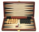 Backgammon Koffer Holz - Backgammon Shop Wien