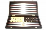 Backgammon Koffer Holz