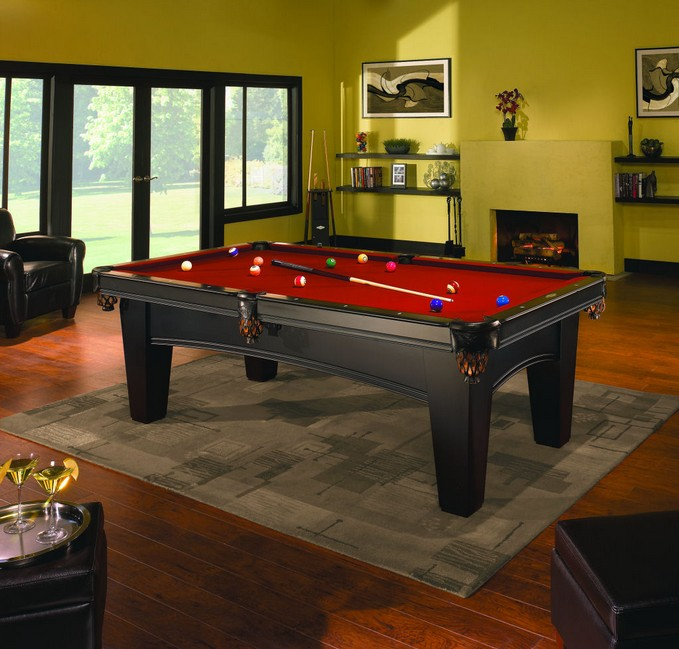 Brunswick billiards international dealer bayfield for Design tischfussball tisch